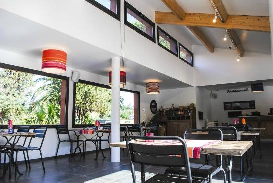 Camping Le Haras : Restaurant