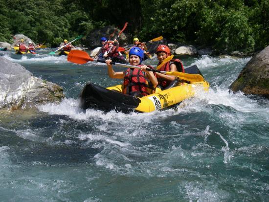 Breil-sur-Roya, Γαλλία: Canoe Rafting