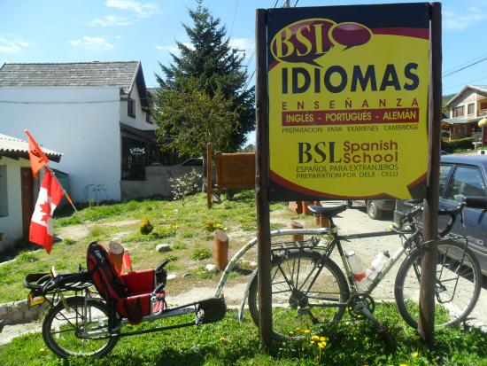 Bariloche Spanish Lessons: Bike tour around the world - Time to rest and learn Spanish