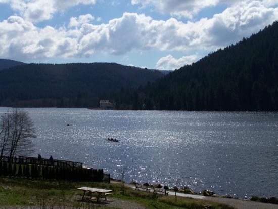Gerardmer, France: Le lac de Gérardmer