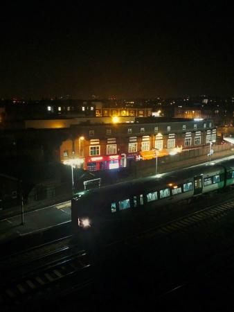 Travelodge London Balham : Balham Railway Station from the fifth floor.