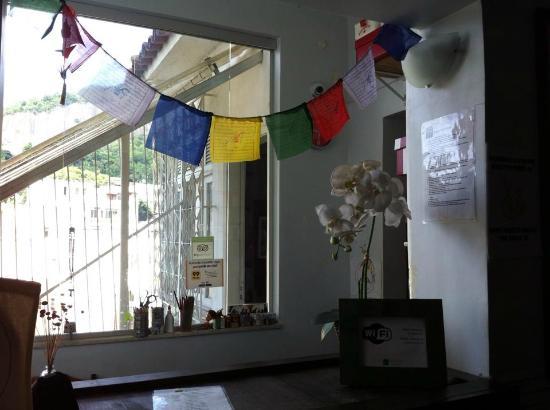 Valparaiso Hostel Rio: Recepção
