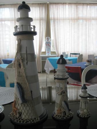Hotel Promenade: Dettaglio sala colazioni