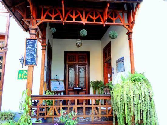 Lima Wari Hotel Boutique: Entrance hall