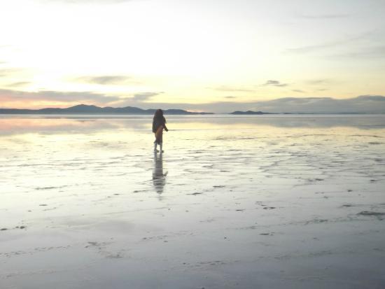 Oasis Bolivia: Sunrise...