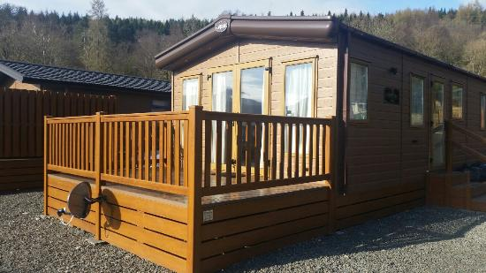 Loch Lomond Holiday Park: Amazing accommodation with stunning views