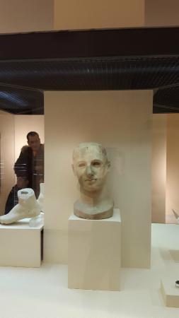 Tempio di Apollo Aleo: Testa dell'acrolito@museo comunale_palazzo porti