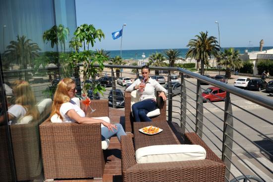 Hotel La Sirenetta: Terrazza panoramica