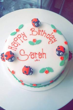Love This Ladybird Cake From The Shop Picture Of Devine