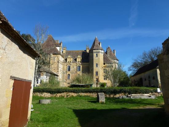 Lanquais, Франция: Jardin du Château