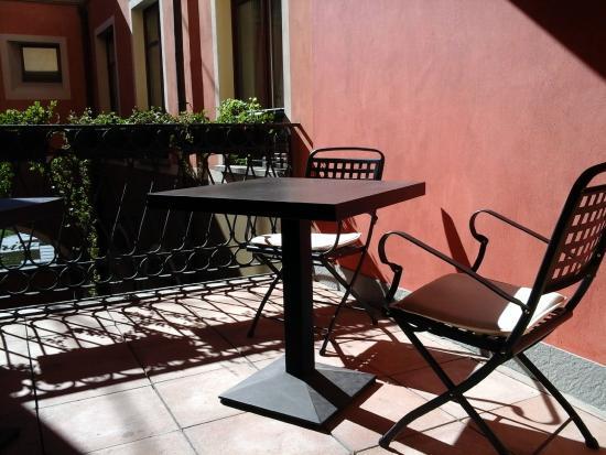 La Contrada Hotel: Terrazzino