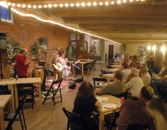 Arcadia, IN: The Hedgehog Music Showcase on Main Street offers weekly shows.