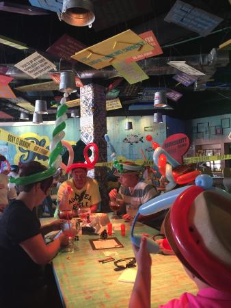 Senor Frogs Costa Maya: Getting crazy