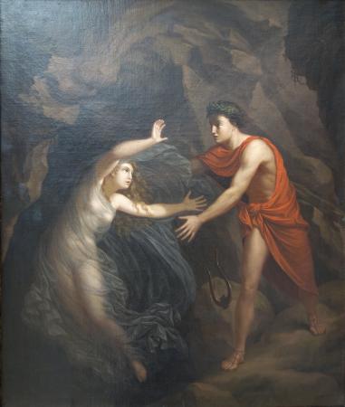 Ny Carlsberg Glyptotek: Christian Gottlieb Kratzenstein-Stub: Orpheus and Eurydice