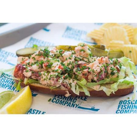Boscastle Fishing Company: New look lobster roll