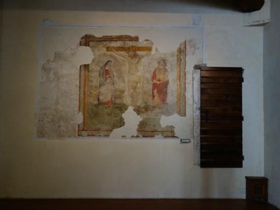 Residenza Antica Canonica: Affresco nell'ingresso