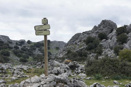 Sierra de Grazalema Natural Park, Spain: Wegweiser