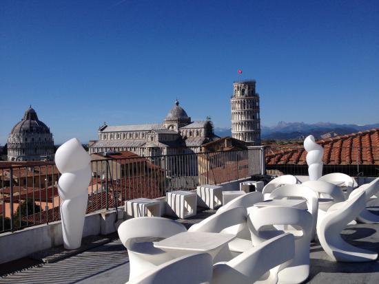 Vista dalla terrazza - Picture of Grand Hotel Duomo, Pisa - TripAdvisor