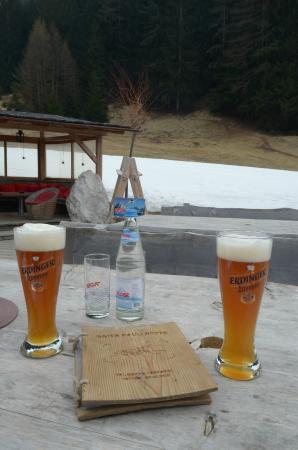 Baita Pauli Hütte: le birre