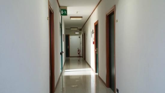 Hotel Cristallo: Corridoio del piano III