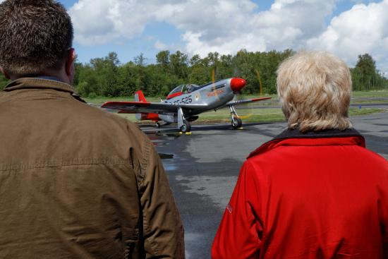 Heritage Flight Museum : Visitors young and old love the sights and sounds of vintage aircraft - photo by Thomas McCleave