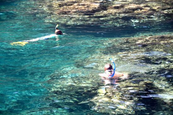 Kilauea, Hawái: snorkeling
