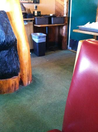 Black Bear Diner: Dirty Carpet