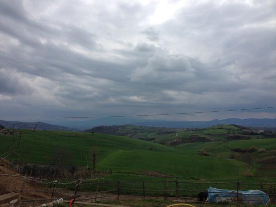 Paduli, Italia: Paesaggio di Benevento.