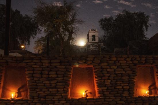 Lodge Andino Terrantai: Night