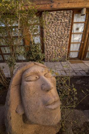 Lodge Andino Terrantai: Sculpture