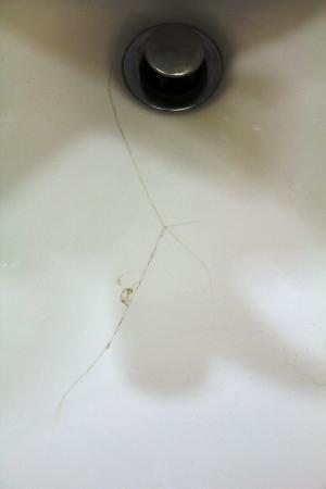 Austin Marriott South: Bathroom sink