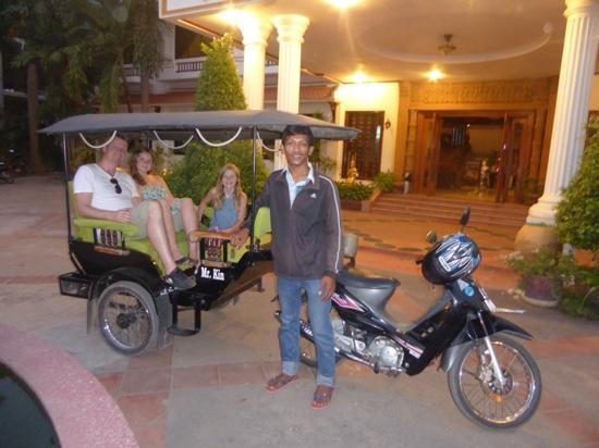 Angkor Taxi Cambodia Private Day Tours: Tuk Tuk mr. Kin