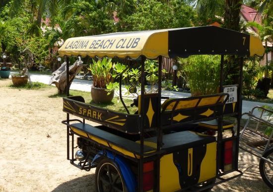 Laguna Beach Club: Laguna Tuk-Tuk