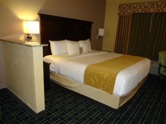 Comfort Suites Sawgrass: Área da cama