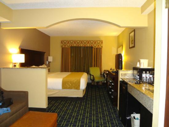 Comfort Suites Sawgrass: Visão geral do quarto
