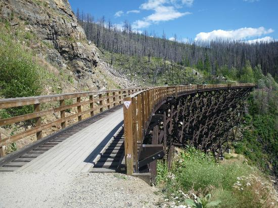 Idabel Lake, Canada: Kettle Valley Railway