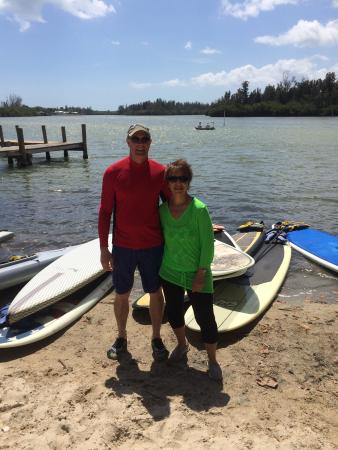 SUP Eco Adventures: Paddle boarding in Melbourne Florida !  April 2015