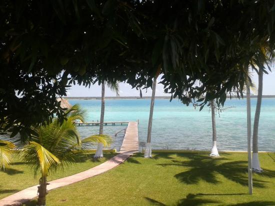 Hotelito El Paraiso : Blick aus dem Zimmer