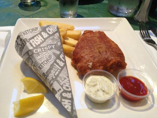 An Cruiscin Lan Hotel: Fish and Chips