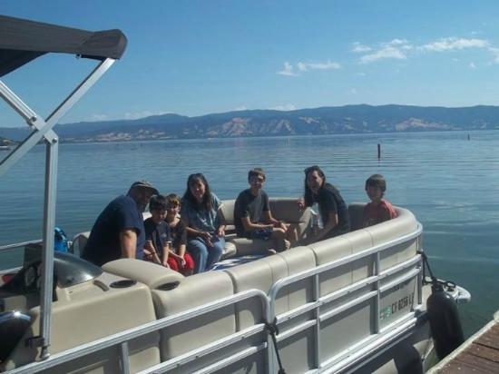 Disney's Boat Rentals: Patio Boat