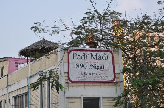 Padi Madi Guest House: la terrasse de l'hôtel