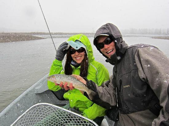 Grand Teton Fly Fishing: On the snowy Snake River with Josh Gallivan