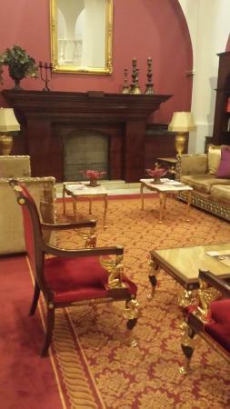 Ickale Hotel: Lobbyn