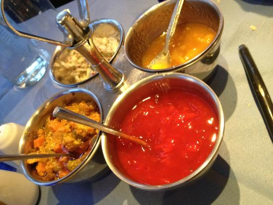 The Hoops Tandoori at Great Eversden : Mixed Spices