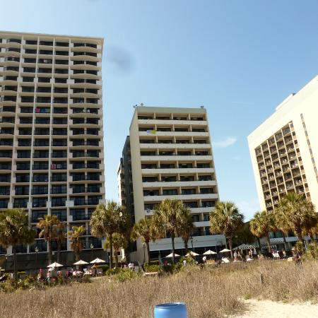 The Breakers Resort Palmetto Building In Center Of Photo Taken From Beach