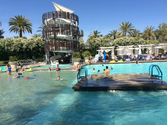 Waterslide and children's pool - Picture of Hyatt Regency ...