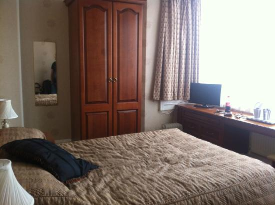 The Park Hotel: Double room, second floor