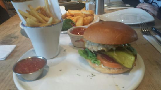 The Cow: Best burger ever according to my 11 year old son