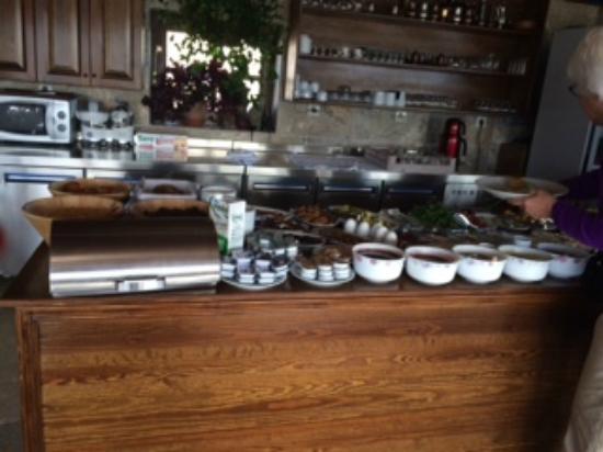 Safran Cave Hotel: Breakfast Buffet
