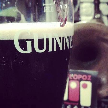 L'Opoz : Guinness alla spina